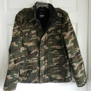 Tony Hawk/ Thick Camo utility coat